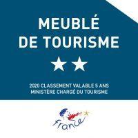 Label Meublé de tourisme 2 étoiles